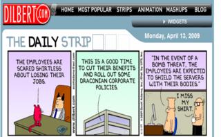 Dilbert Draconian Policies