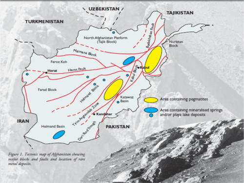Rare earth metals in Afghanistan